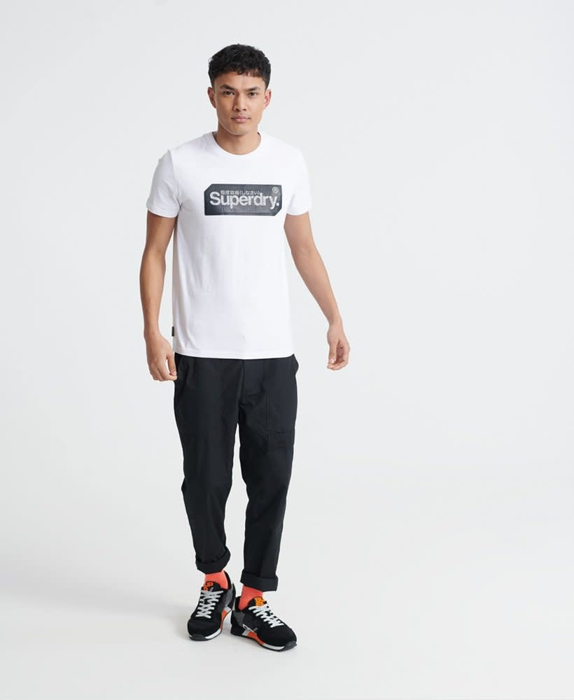 superdry Core logo tag tee