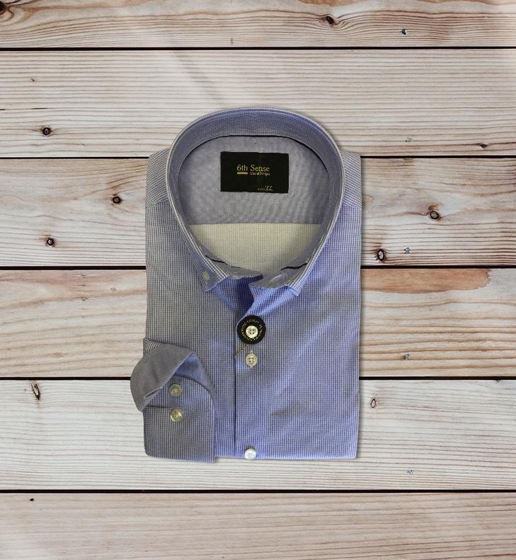6th sense 202 bd chk 2 Shirt