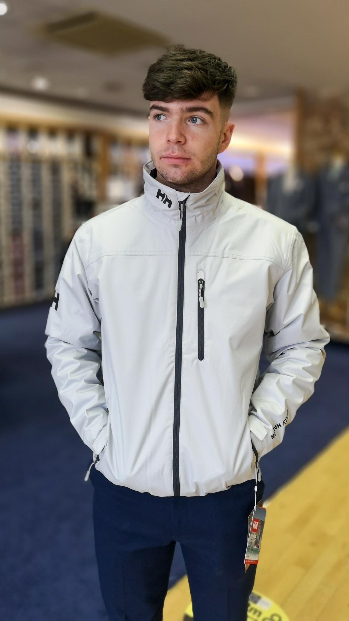 Helly hansen crew mid layer jacket