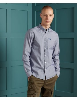 superdry classic university oxford gingham shirt