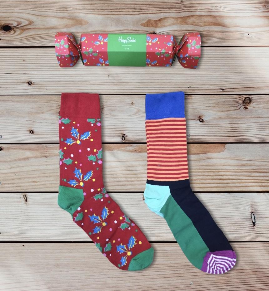 happy socks happy sox xmas cracker