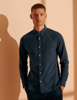 superdry classic university oxford marl