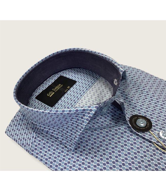 6th sense 6th sense cac print 33 shirt