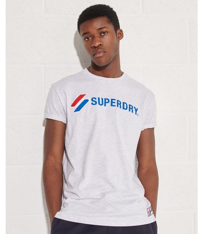 superdry sportstyle applique tee