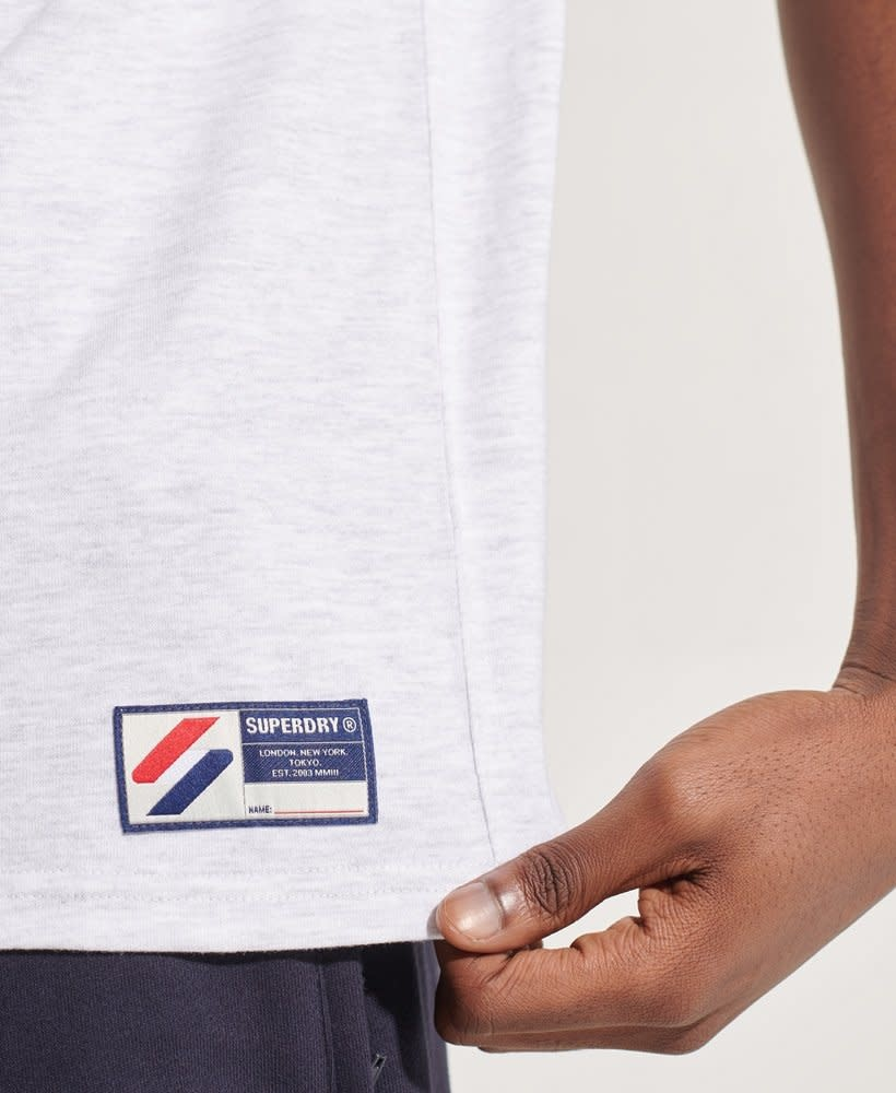 superdry superdry sportstyle applique tee