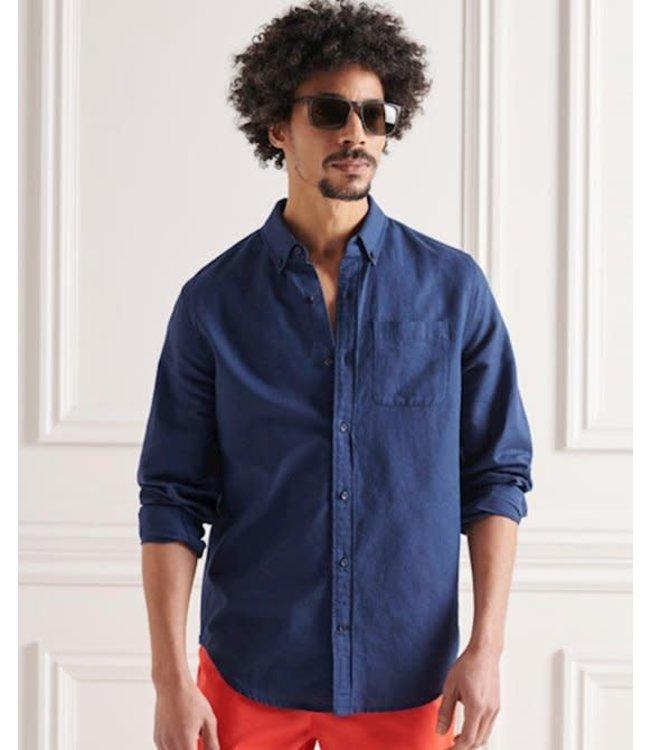 superdry linen cotton shirt