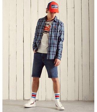 superdry Superdry sun faded lumberjack shirt