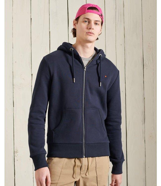 superdry Superdry Orange Label Classic Zip hoodie