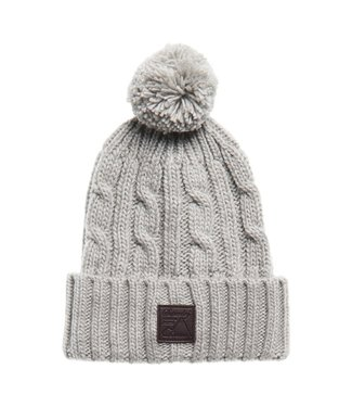 superdry trawler cable beanie