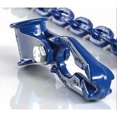 Seilgleitbügel Pewag mit Einhängeöse Güte G10 für Forstkette 8mm u Seile bis 16mm