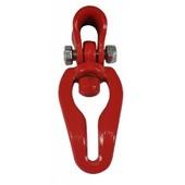 Seilgleitbügel drehbar G8 Einhängeöse für 7 + 8 + 10mm Forstketten und Seilwinden bis 16mm Seil