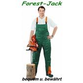 Forest-Jack Schnittschutzhose Gr.26 untersetzt Latzhose Schnittschutz A vorn Kl.1