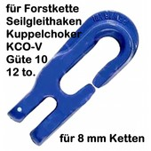 Seilhaken Kuppelchoker f. 8mm Forstkette u. Seile bis 16mm
