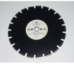 Dolmar Diamant - Trennscheibe für Asphalt standard 350 mm x 25,4+20mm für Naß- und Trockenschnitt mit Motortrennschleifer