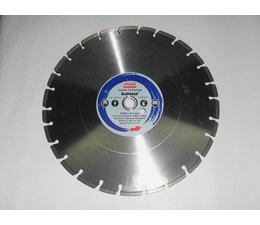 Diamant - Trennscheibe Beton u. Steinzeug 350mm x Bo. 25,4 + 20mm DiaDuran für Naß- und Trockenschnitt mit Motortrennschleifer