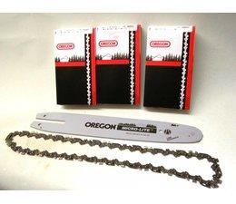 OREGON 30cm Schwert +3 Kette 1,1 Nut für STIHL E14  017 021 MS 140 MS 170 Kettensäge