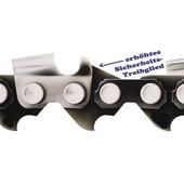 """Carving Sägekette 1/4"""" 60 Trgl. für 1,3 Nut normales Zahndach Sicherheitsverbindungsglieder"""