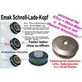 Freischneider Fadenkopf Efco und Oleo-Mac Sensen mit Außengewinde 8mm