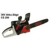 Kettensäge elektrisch Akku Motorsäge OREGON CS250 35cm Schnittlänge 36 V 4.0 AH