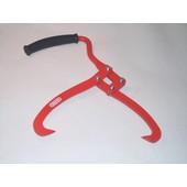 Handpackzange OREGON 265 mm Länge 390 mm Brennholz Packzange große Klauenöffnung