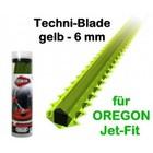 Mähfaden 6.0 mm X 26 cm 50 Stck. Oregon Techni-Blade Spezialfaden für Jet-Fit Kopf auf Freischneider Motorsense
