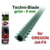 Mähfaden 5.0 mm X 26 cm 70 Stck. Oregon Techni-Blade Spezialfaden für Jet-Fit Kopf auf Freischneider Motorsense