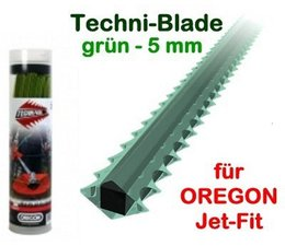 Freischneider Mähfaden 5.0 mm X 26 cm 70 Stck. Oregon Techni-Blade spezial Faden für Jet-Fit Kopf auf Motorsense