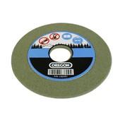 """Schleifscheibe 145 x 22,3 x 4,7 grün hart für 3/8"""" Profi + 0.404"""" z.B. für Kettenschärfgerät Oregon"""
