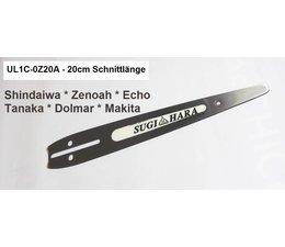 Carving Schwert 20cm Sugi-Hara Hard Tip - light weight univ. 2cm Spitze Kettensäge Motorsäge Holzschnitzen