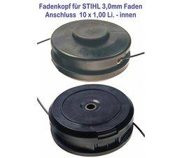 Freischneider Fadenkopf STIHL Profi 10 x1,0 li innen 3,0mm große Spulenkapazität