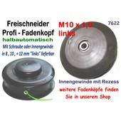 Fadenkopf für Stihl mit 10 x 1.0 li.Innengewinde 2,4 mm Freischneider