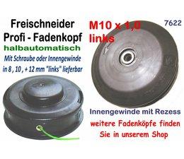 Freischneider Fadenkopf für Stihl mit 10 x 1.0 li.Innengewinde 2,4 mm Mähfaden