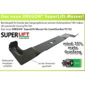 Rasenmähermesser 102cm  High-Lift-Messer-Satz Castel Garden TC 102 Twin Cut 1238 Oregon