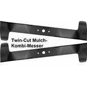 Rasenmähermesser 122cm Mulchkombimesser Satz Castel Garden Dolmar TM12222H2 Twin-Cut