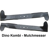 Rasenmähermesser 102cm Mulchkombimesser Satz AGS Dino Axxom Park 200, 300, 400, 500