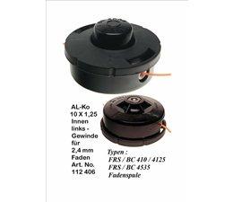 Freischneider Fadenkopf Alko FRS / BC 410  4135  4535  Motorsense Tap-N-Go 2,4mm
