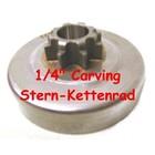 "Carving Kettenrad 1/4"" Komatsu Zenoah G250 T - TopHandle Baumpflege Kettensäge"