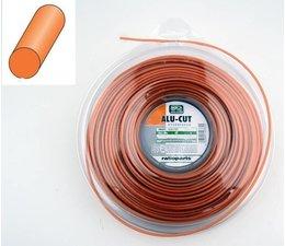 Mähfaden ALU-CUT 2,0 mm x 130m Rolle runde Kontur für Motorsense und Freischneider Fadenköpfe