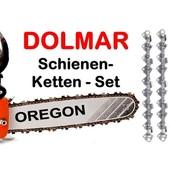 """Schwert 40cm Dolmar Schneidgarnitur 1+2 Ketten 3/8"""" Kettenteilung PS 630 6400 6800 7300 7310 7900 7910"""