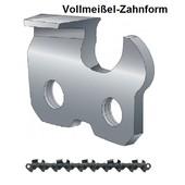 """Sägekette 3/8"""" Teilung 114 Treibglieder 1,6mm Nutbreite Vollmeißel"""
