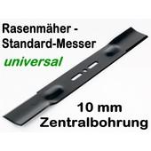 Rasenmähermesser 46 cm univ. bei 9,5 o.10mm Aufnahme Zentrierung