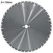 Kreissägeblatt 750mm Hartmetall Zähne 46 Blattstärke 4,5 Bohrung 30 Zahnform LFZ