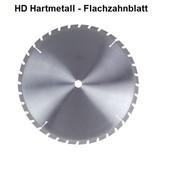 Kreissägeblatt 500mm Hartmetall Zähne 36 Blattstärke 2,8 Bohrung 30 Flachzahn mit Fase