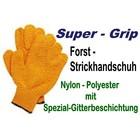Forsthandschuh Gr. L Criss-Cross Strickhandschuh rutschsicher beschichtet 3 - Paar