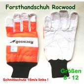 Schnittschutzhandschuh Gr.8 Forsthandschuh für Kettensäge Schnittschutz li 16m/s