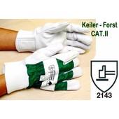 Keiler-Forst GR.10,5 - Forsthandschuh CAT.II Handschuh für Kettensägen-Führer
