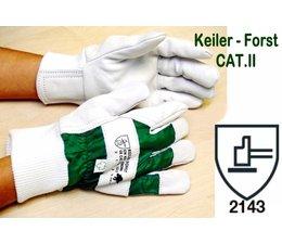 Keiler-Forst GR.10,5 - Forsthandschuh CAT.II der klassische Handschuh für Kettensägen-Führer