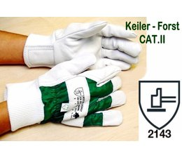 Keiler-Forst GR.08 - Forsthandschuh CAT.II der klassische Handschuh für Kettensägen-Führer