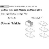 Luftfilter Filterset 5+1 Dolmar Makita Trennschleifer Motortrennschleifer bis 2004