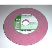 """Schleifscheibe 145 x 22,2 x 3,2 rosa weich für 3/8"""" Hobby + 0.325"""" Sägekettenschärfgerät"""